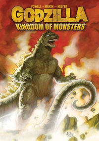 Cover Thumbnail for Godzilla: Kingdom of Monsters (IDW Publishing, 2011 series) #1 [Cover B]