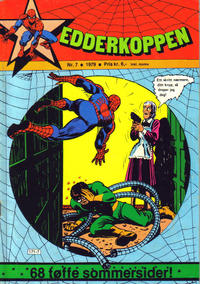 Cover Thumbnail for Edderkoppen (Atlantic Forlag, 1978 series) #7/1979