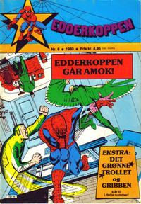 Cover Thumbnail for Edderkoppen (Atlantic Forlag, 1978 series) #6/1980