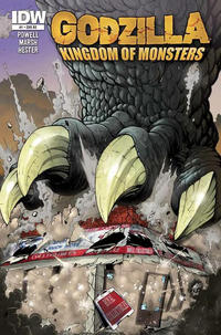 Cover Thumbnail for Godzilla: Kingdom of Monsters (IDW Publishing, 2011 series) #1 [Royal Collectibles Cover]
