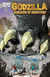 Cover Thumbnail for Godzilla: Kingdom of Monsters (IDW Publishing, 2011 series) #1 [Rogue Comics (CT)  Cover]