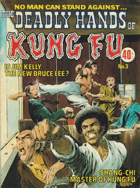 Cover Thumbnail for The Deadly Hands of Kung Fu (K. G. Murray, 1975 series) #3