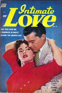 Cover Thumbnail for Intimate Love (Standard, 1950 series) #19