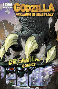 Cover Thumbnail for Godzilla: Kingdom of Monsters (IDW, 2011 series) #1 [Dreamland Comics Cover]