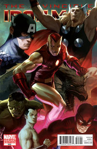 Cover Thumbnail for Invincible Iron Man (Marvel, 2008 series) #502 [Variant Edition - Avengers]
