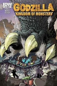 Cover Thumbnail for Godzilla: Kingdom of Monsters (IDW Publishing, 2011 series) #1 [Alakazam!  Cover]