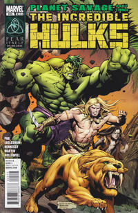 Cover Thumbnail for Incredible Hulks (Marvel, 2010 series) #625