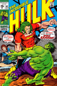 Cover Thumbnail for The Incredible Hulk (Marvel, 1968 series) #141
