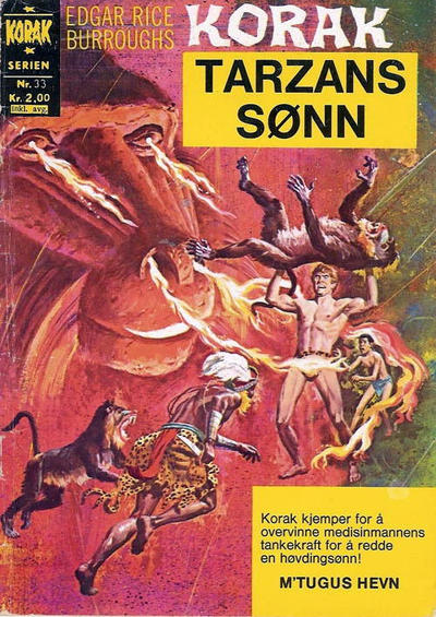 Cover for Korak (1967 series) #33
