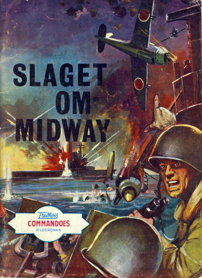 Cover for Commandoes (Fredhøis forlag, 1973 series) #129