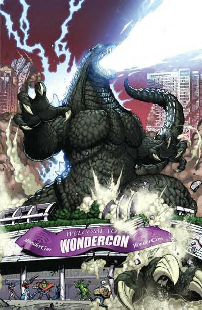 Cover for Godzilla: Kingdom of Monsters (2011 series) #1 [Royal Collectibles Cover]
