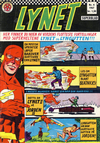 Cover for Lynet (1967 series) #4/1967