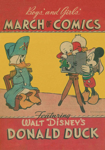 Cover for March of Comics (1946 series) #[4] [Sears Logo]