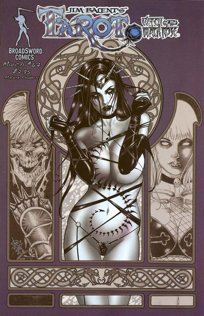 Cover for Tarot: Witch of the Black Rose (Broadsword, 2000 series) #67 [Cover C]