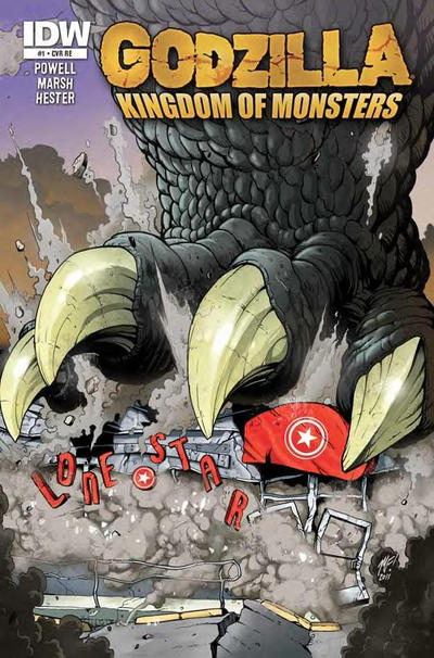 Cover for Godzilla: Kingdom of Monsters (2011 series) #1 [Jetpack Comics Cover]