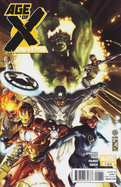 Cover for Age of X: Universe (Marvel, 2011 series) #1