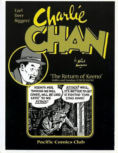 "Cover for Charlie Chan ""The Return of Keeno"" (Pacific Comics Club, 2002 series)"