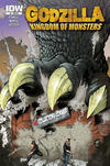 Cover for Godzilla: Kingdom of Monsters (IDW, 2011 series) #1 [Cover RI-A]