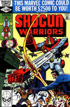 Cover for Shogun Warriors (Marvel, 1979 series) #20 [direct edition]