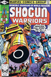 Cover for Shogun Warriors (Marvel, 1979 series) #18 [direct edition]