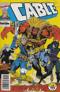 Cover Thumbnail for Cable (Planeta DeAgostini, 1994 series) #4