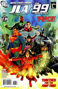Cover Thumbnail for Justice League of America / The 99 (DC, 2010 series) #6