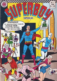 Cover Thumbnail for Superboy (Serieforlaget / Se-Bladene / Stabenfeldt, 1967 series) #1/1968