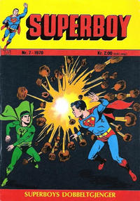 Cover Thumbnail for Superboy (Williams Forlag, 1969 series) #7/1970