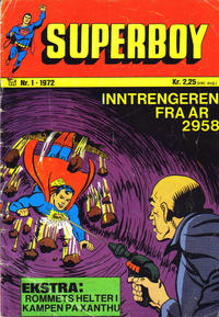 Cover Thumbnail for Superboy (Williams Forlag, 1969 series) #1/1972