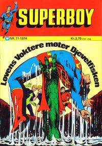 Cover for Superboy (1969 series) #11/1974