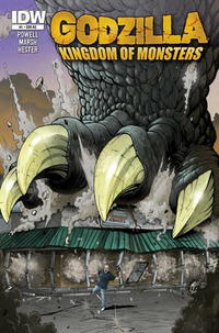 Cover Thumbnail for Godzilla: Kingdom of Monsters (IDW, 2011 series) #1 [Second Printing: Pittsburgh Comics Cover]