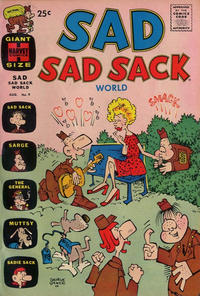 Cover Thumbnail for Sad Sad Sack World (Harvey, 1964 series) #9