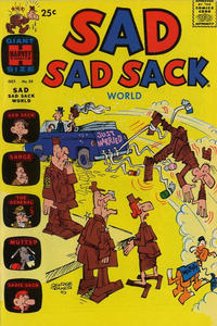 Cover Thumbnail for Sad Sad Sack World (Harvey, 1964 series) #23