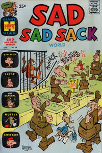 Cover Thumbnail for Sad Sad Sack World (Harvey, 1964 series) #14