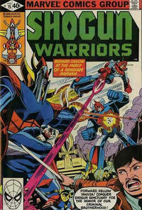Cover for Shogun Warriors (1979 series) #15 [Direct Edition]
