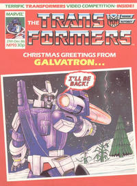 Cover Thumbnail for Transformers (Marvel UK, 1984 series) #93