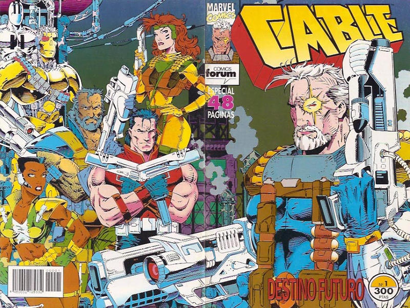 Cover for Cable (Planeta DeAgostini, 1994 series) #1