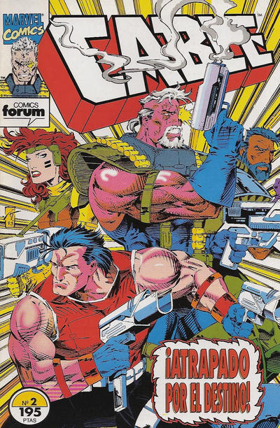 Cover for Cable (Planeta DeAgostini, 1994 series) #2