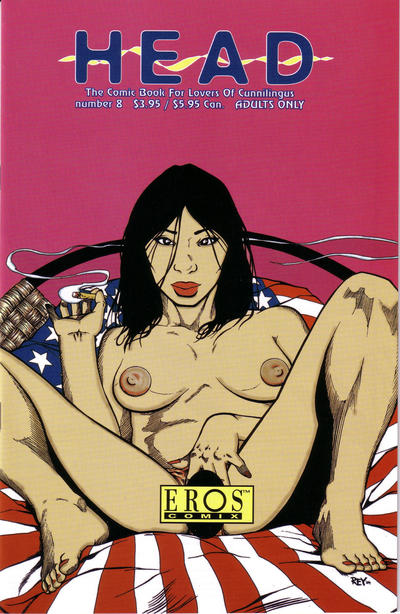 Cover for Head (Fantagraphics, 2002 series) #8