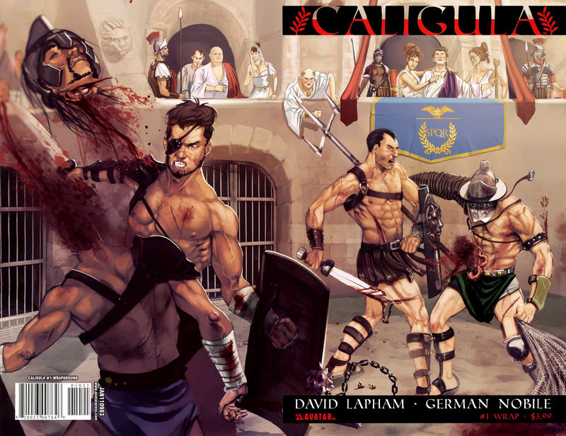 Cover for Caligula (Avatar Press, 2011 series) #1 [Wondercon]