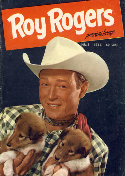 Cover for Roy Rogers (1955 series) #8/1955