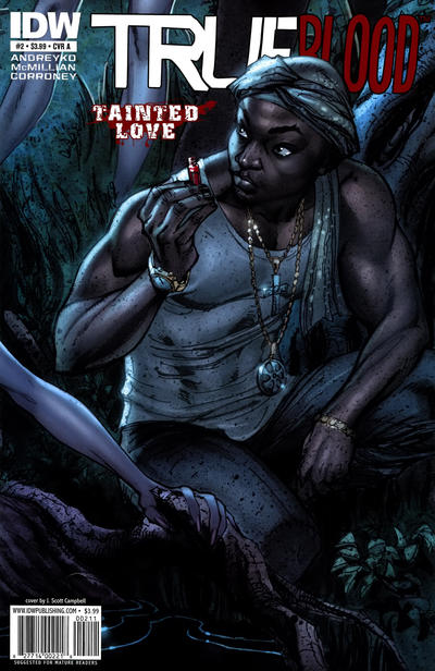 Cover for True Blood: Tainted Love (2011 series) #2 [Cover A]