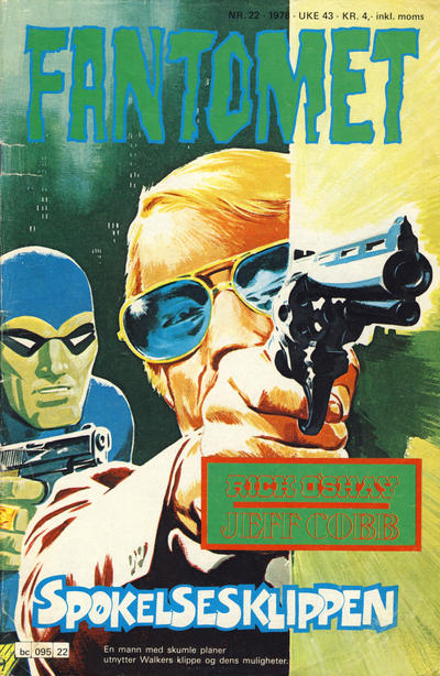 Cover for Fantomet (1976 series) #22/1978