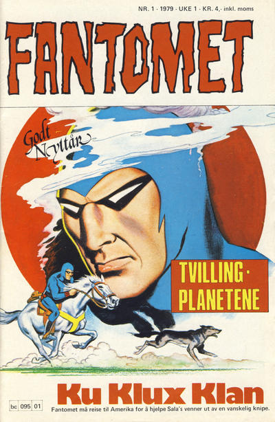 Cover for Fantomet (1976 series) #1/1979