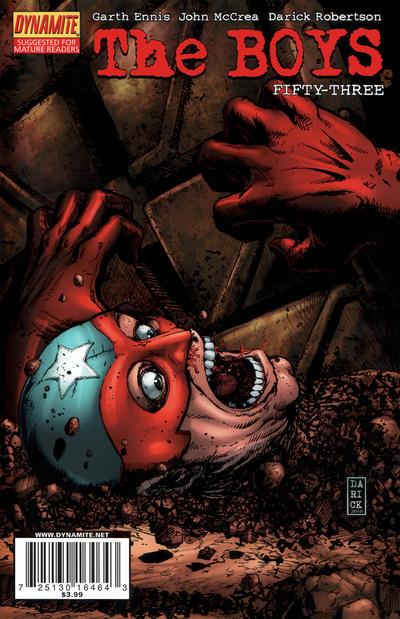 Cover for The Boys (Dynamite Entertainment, 2007 series) #53