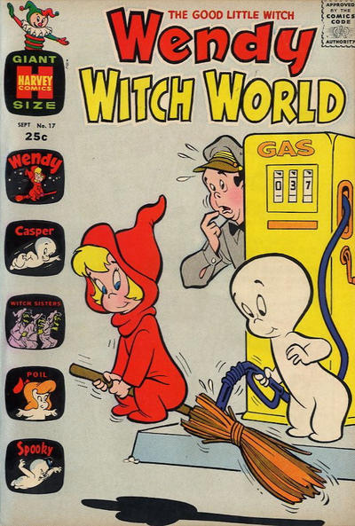 Cover for Wendy Witch World (1961 series) #17
