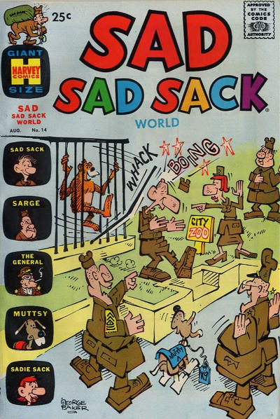 Cover for Sad Sad Sack World (1964 series) #14
