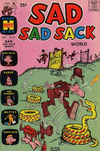 Cover for Sad Sad Sack World (Harvey, 1964 series) #27