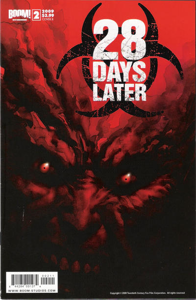 Cover for 28 Days Later (Boom! Studios, 2009 series) #2