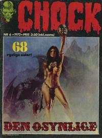 Cover for Chock (Semic, 1972 series) #6/1972